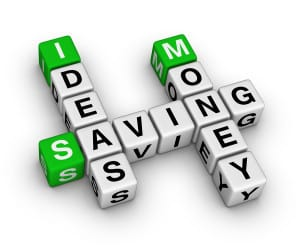 Ideas for saving money