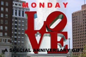 Monday Love - A Special Anniversary Gift