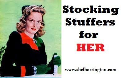Donna Reed and stocking stuffers for HER