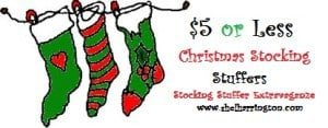 Christmas Stocking Stuffers for $5 or Less