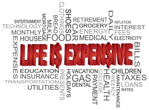 Alimony 101 - life is expensive