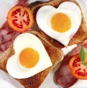 Friday Five Valentine Breakfast