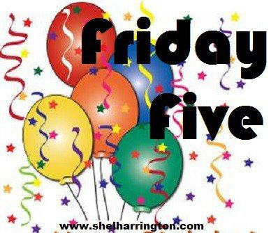 Friday Five Balloons