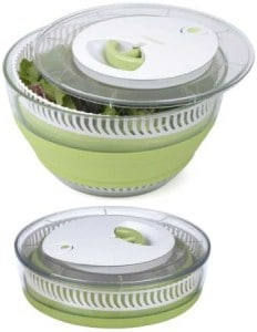Collapsible Plastic Salad Spinner