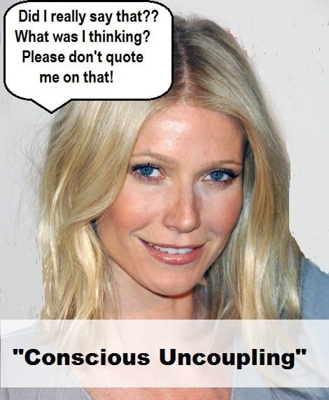 Unconscious Coupling? Gimme a Break, Gwyneth Paltrow!