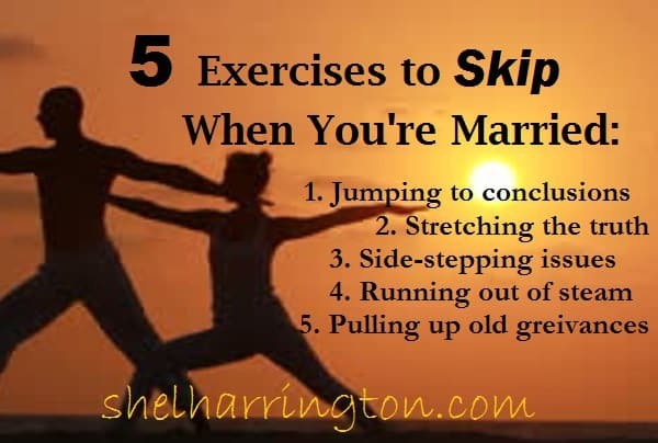 Marriage exercises to skip