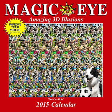 For more information about how Magic Eye works or fun Magic Eye products, click on the picture.