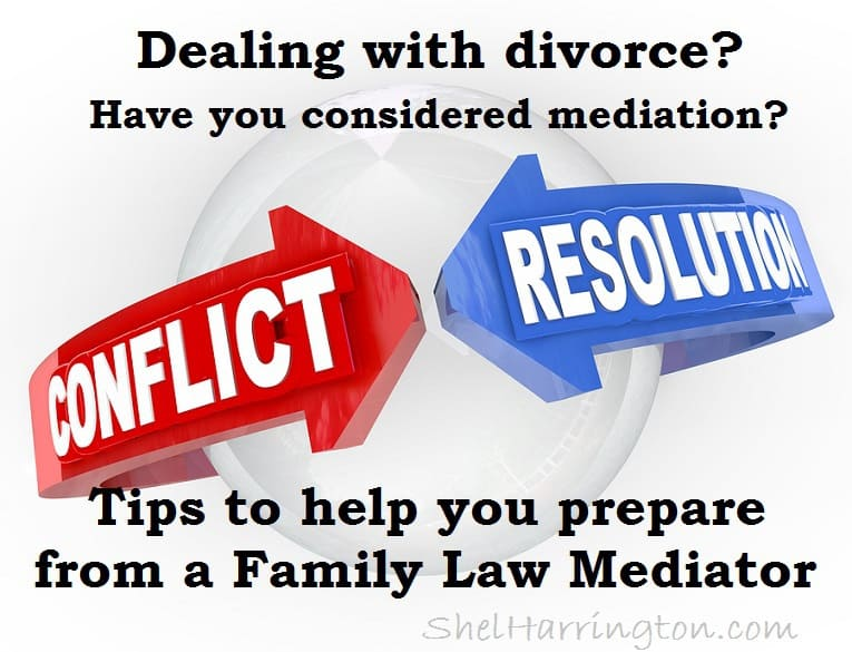how to win divorce mediation