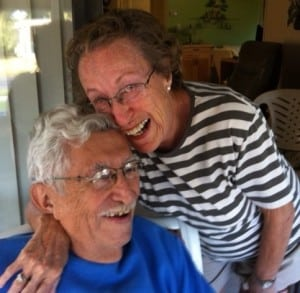 Yvette and Tony Abreu - living well and laughing often