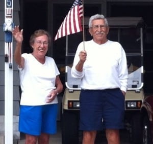 Yvette, 88 and Tony, 90 - heading toward their 67th year of marriage