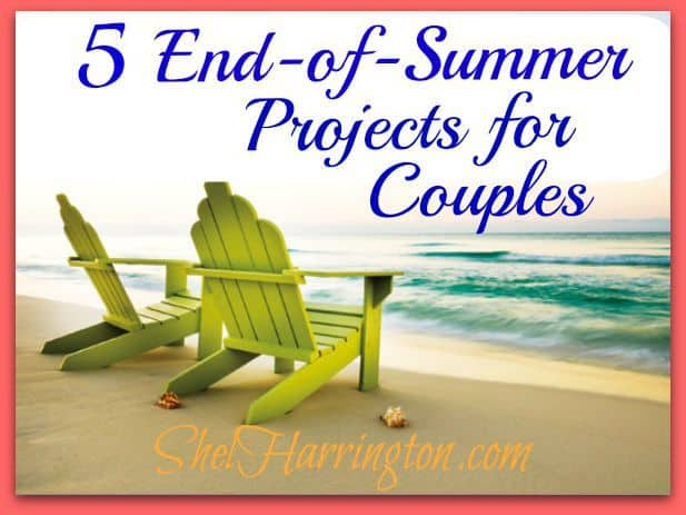 5 End-of-Summer Projects for Couples