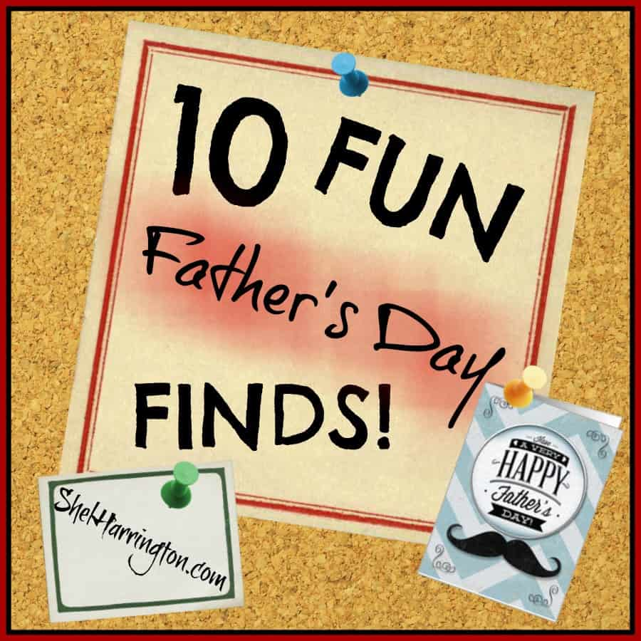 10 Fun Father's Day Finds