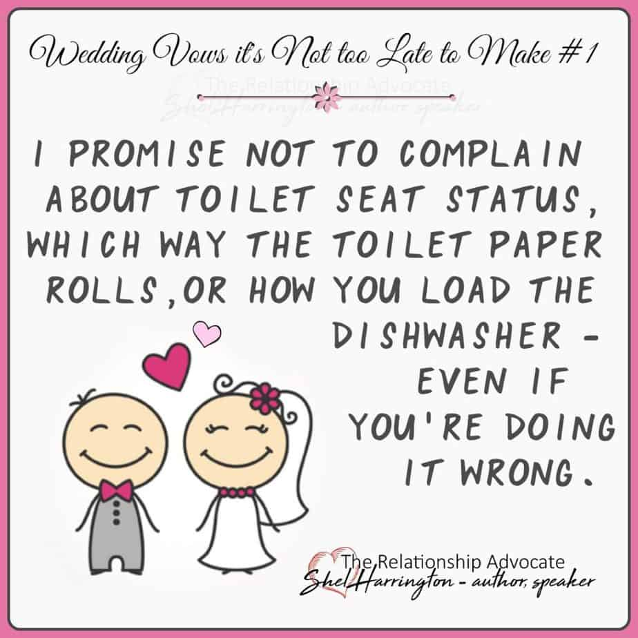 Wedding Vows you should make